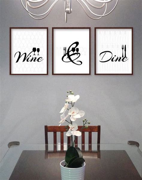 dining room wall decor best 25 dining room art ideas on pinterest dining room