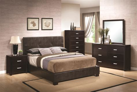 Bedroom Exotic Bedroom Design With Black Wooden Cabinets Picture Of Bedroom Furniture