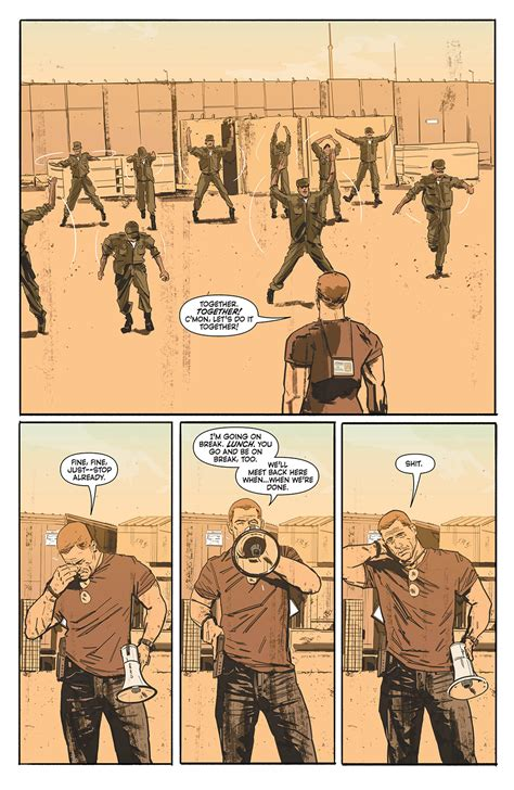 the sheriff of babylon tom king mitch gerads dissect the muddy aftermath of war in the sheriff of babylon comics