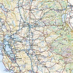 california road map benchmark maps