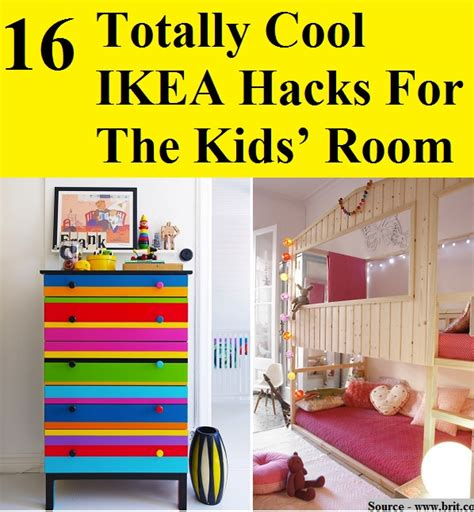 ikea life hacks 16 totally cool ikea hacks for the kids room home and