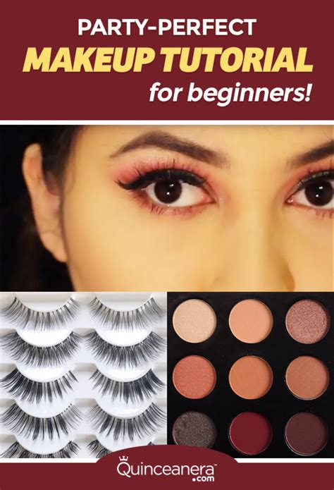 makeup tutorial for quinceanera party makeup tutorial for beginners vizitmir com