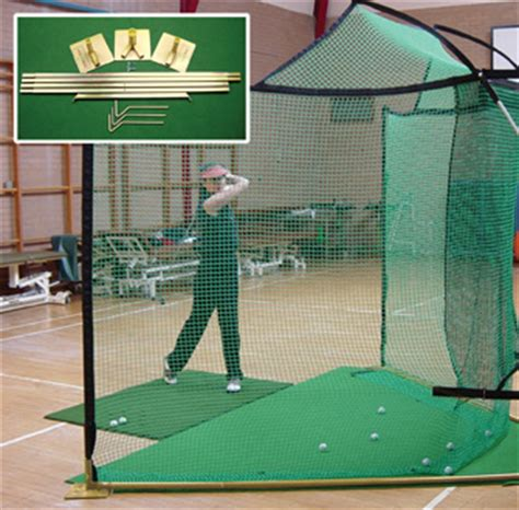 golfing nets for a backyard rotanet superior real feel golf mats