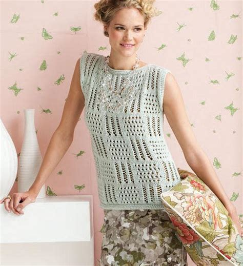 Pattern Knit Top knit lace top patterns for summer