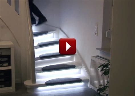 automatic lights automatic stair lighting home automation for aging in place
