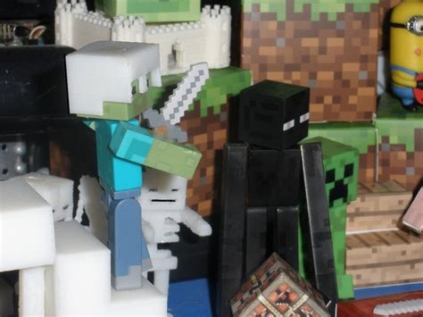 Minecraft 3d Papercraft - 3d printed minecraft helmets for minecraft toys and