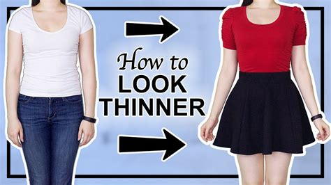 Digital Makes You Look Thinner by 7 Ways To Look Thinner Instantly Hacks