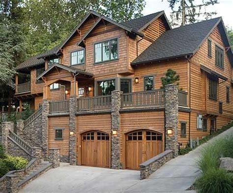 Luxury Craftsman Home Plans by Plan W69144am Mountain Craftsman Sloping Lot Northwest