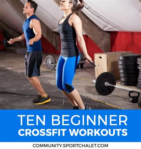 beginner crossfit workouts crossfit and a box on