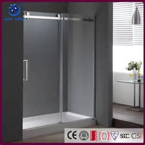 sliding door shower screen frameless frosted glass sliding shower door shower screens