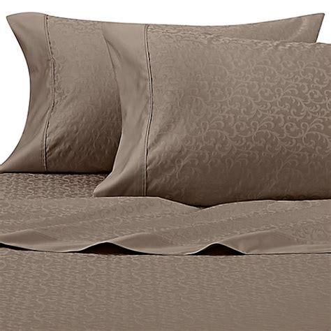 perfect touch 625 thread count sheet set bed bath beyond buy wamsutta 174 625 thread count pimacott 174 scroll california