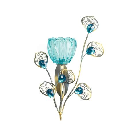 peacock home decor wholesale peacock blossom single sconce wholesale at koehler home decor