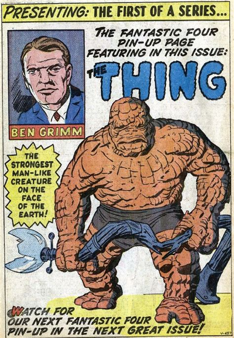 the thing marvel comic book 23 best images about jack kirby comic pin ups on pinterest