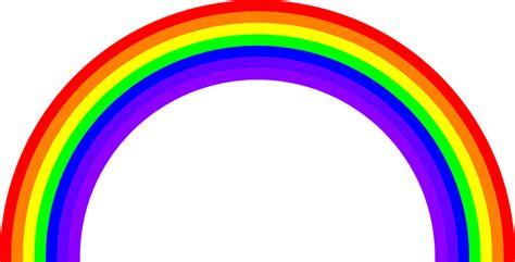 clipart arcobaleno immagine vettoriale gratis arcobaleno colori colore