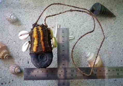 Fosil Kerang kios engkong jual barang antik unik dan jadul kalung
