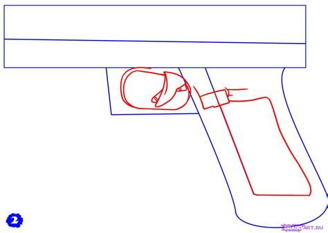 9mm Drawing by How To Draw A Glock 17