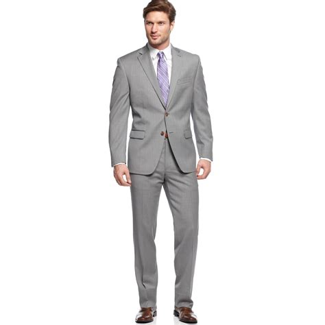 light grey suit mens fashion grey suits short hairstyle 2013