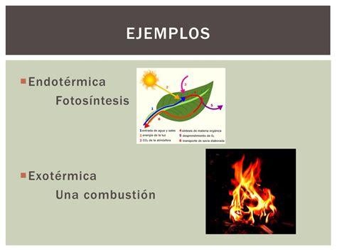 reacciones exotermicas y endotermicas biologia 1 cibertareas endot 233 rmicas y exot 233 rmicas ppt video online descargar
