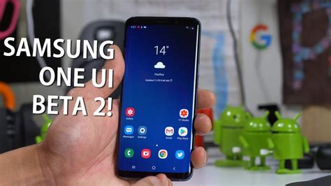 samsung one ui beta 2 for galaxy s9 s9 overview android 9 0 pie