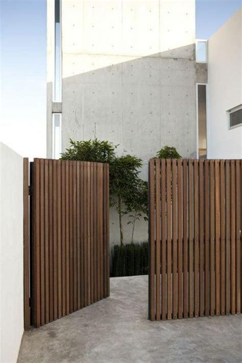 Gartentor Holz Blickdicht