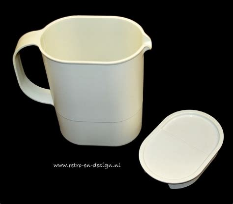Tupperware Pitcher 1l tupperware pitcher jug 1l recently sold retro design 2nd collectibles webshop