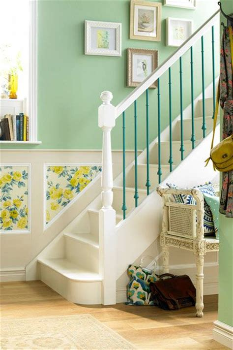green wallpaper hallway su yeşili dekorasyonlardekorasyon cini dekorasyon cini