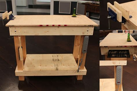 build your own work bench woodworking projects gallery lumber jocks com clock plans