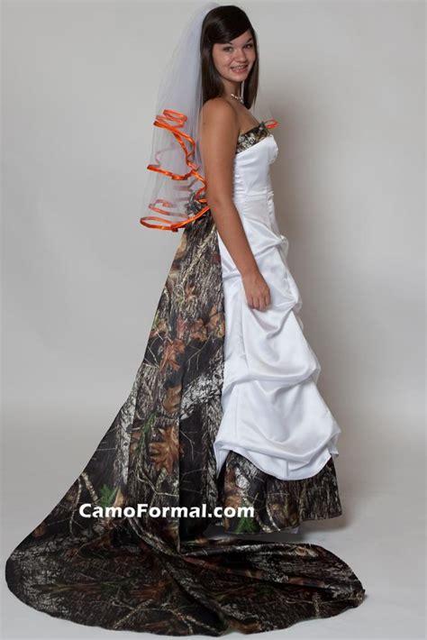 camo wedding dress is not so hard spot