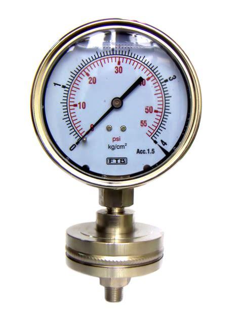 Manometer 4kg 1 4 diaphragm pressure gauges and manometers diaphragm