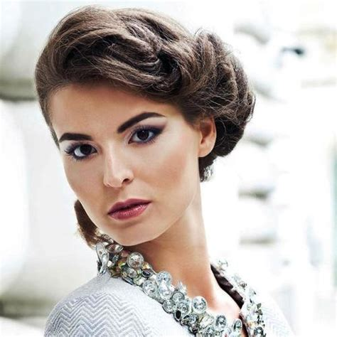 hair styles for with square faces 70 elegant side updo for square faces