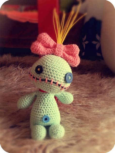 amigurumi scrump pattern free voodoo doll inspired by scrump lilo and stitch crochet