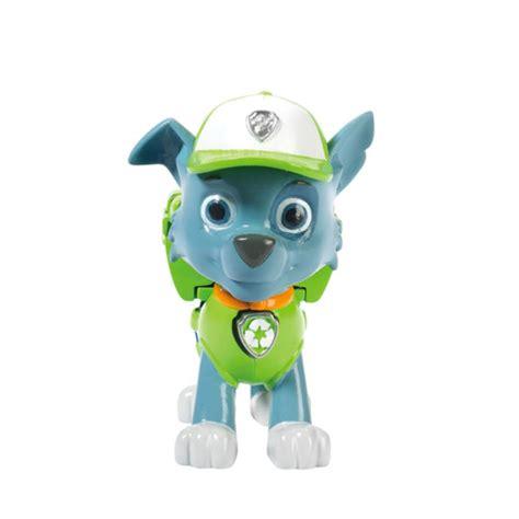 Figur Paw Patrol Transform Murah paw patrol pack pup badge rocky paw patrol