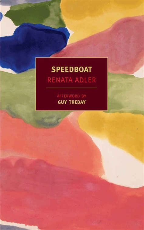 speed boat book speedboat by renata adler books and more books