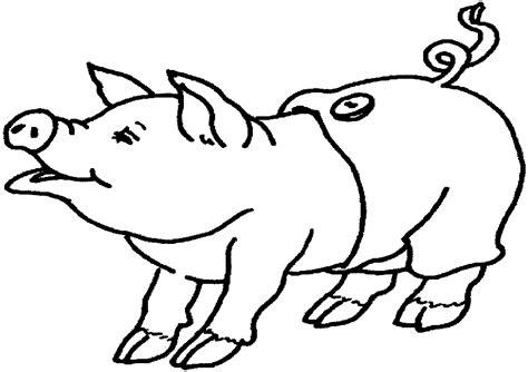 imagenes animales para pintar dibujos para colorear animales cerdito dibujos para colorear