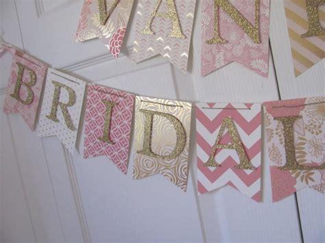 blush pink bridal shower decor bridal banner bridal shower banner wedding shower banner blush and gold bridal shower pink