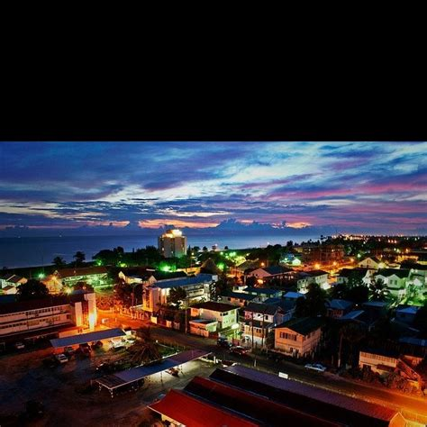 how many towns are there in guyana georgetown guyana city nights land of many waters