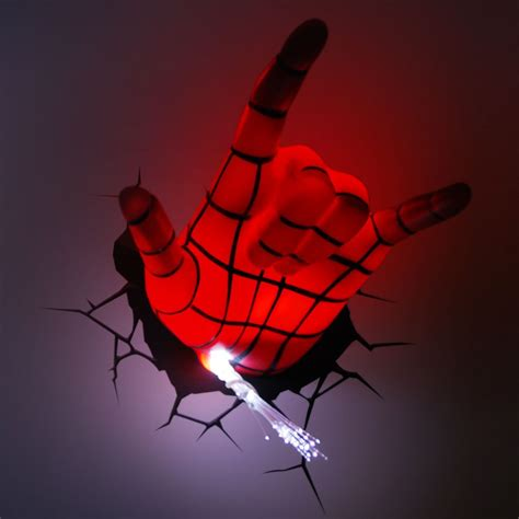 3d wall light experiencing wall lightings and decorations with marvel 3d