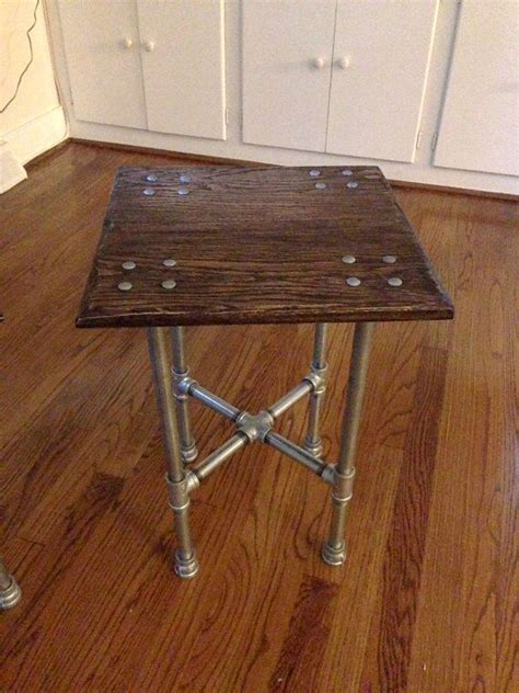iron pipe table legs square iron pipe table living room
