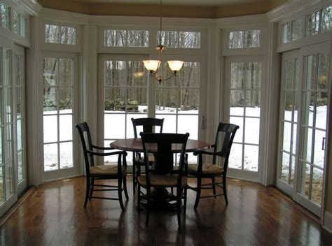 dining room of kitchen sunroom addition inspiration