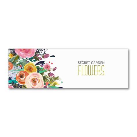 Flower Design Business Cards