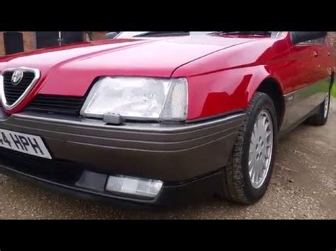 1991 Alfa Romeo 164 by 1991 Alfa Romeo 164 3 0 V6 Lusso At Italicar