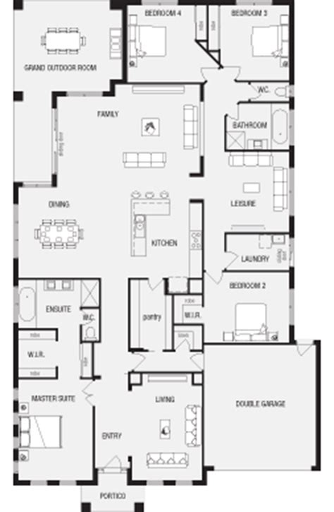 metricon floor plans single storey jasper new home floor plans interactive house plans