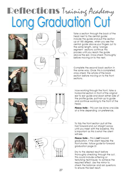 how to section hair for cutting cutting manual ppt download