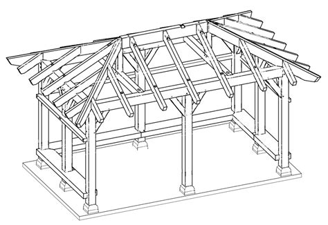 pavilion designs and plans a timber frame pavilion by new energy works timberframers