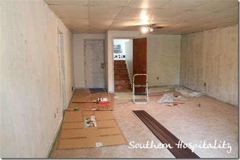 house renovation week 12 paint that paneling southern hospitality