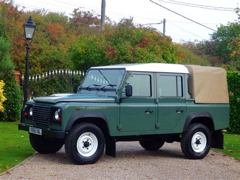 land rover pickup for sale used keswick green land rover defender for sale essex