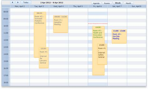 Dhtmlx Scheduler Net Online Booking Calendar Tutorial For Asp Net Updated Reservation Calendar Template