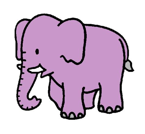 imagenes infantiles elefantes dibujo de elefante bebe pintado por infantil en dibujos