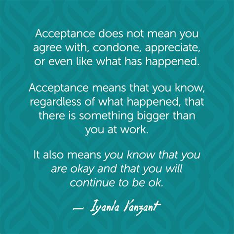 what does it mean when you have a big forehead iyanla vanzant quotes acceptance acceptance big and