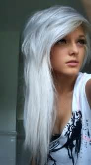 white hair color silver hair silver hair hairstyles and